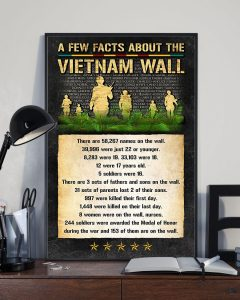 [LIMITED] A few facts about Vietnam wall poster