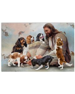 10 God surrounded by Cavalier angels poster 1