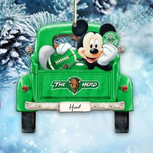 Mickey Mouse Marshall Thundering Herd Ornament